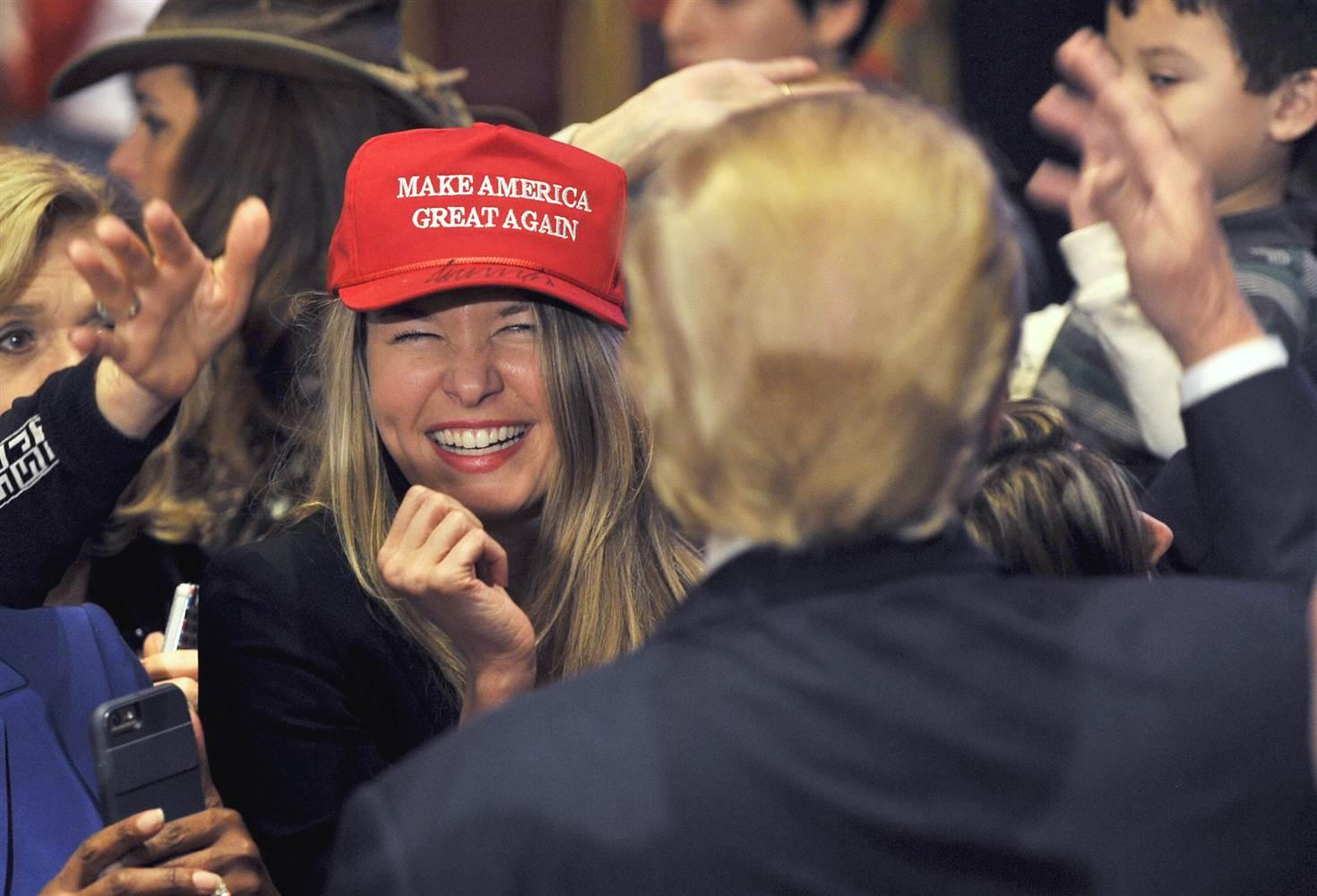 us politics donald trump women.